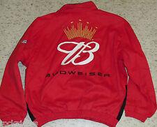 Dale Earnhardt Jr. coat Budweiser Nascar Jacket #8 New sz XL MINT nwt SALE