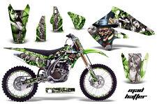 KAWASAKI KXF 250 Graphic Kit AMR Racing # Plates Decal Sticker Part 04-05 MHS