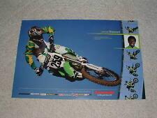 "James ""Bubba"" Stewart #259 Kawasaki Poster SX MX KX250"