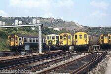 British Rail Boat Trains & VSOE Folkestone East 1983 Rail Photo