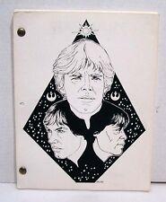 1984  STAR WARS  Fanzine-Time Warp 6- Vintage   180+ pages (K9397)