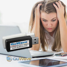 QuWave QWU1B - USB EMF Protection for Electronic Devices, Computers TVs Wi-Fi
