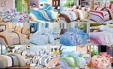 Todd Linen 3 Pcs Queen Set 1 Duvet Cover + 2 Pillow Case Bedding Set