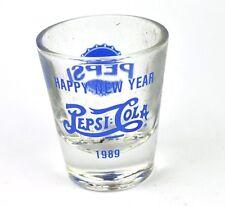 Pepsi Cola EE.UU. Vidrio Stamper Vaso para chupitos Vaso de chupito shot cristal