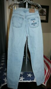 Vintage PEPE JEANS LONDON Womens High Rise Mom Tapered READ 29x33