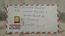 (06) Luftpost Bedarfsbrief von Israel nach Castrop-Rauxel von 1969