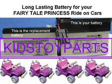 NEW! LITTLE TIKES Fairy Tale Princess 12V BATTERY REPLACEMENT **LONGER RUN TIME!