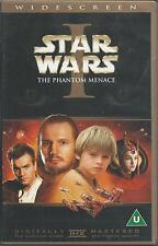 NEW / SEALED Star Wars Phantom Menace Episode 1 VHS / Video - WIDESCREEN