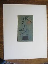 Joan Miro Signed in the Plate Lithograph Femmes 1965 Maeght Editeur 2