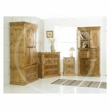 HANDMADE SOLID PINE VICTORIAN 4 PIECE BEDROOM SET,  MANY COLOURS  (ASSEMBLED)