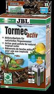 JBL Tormec Activ Aquarium Peat Filter Media Lowers PH Fish Tank Acid Buffer