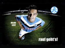 Julian Leist Autogrammkarte Stuttgarter Kickers 2011-12 Original Signiert
