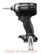 Hitachi Koki 18V cordless impact driver WH18DDL2 black body only From Japan