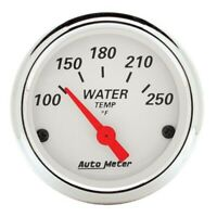 AutoMeter 1337 Arctic White Air-Core Water Temperature Gauge
