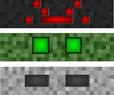 Set of 3 - 1x4 ft Beware Monster Banner Minecraft Style Gaming