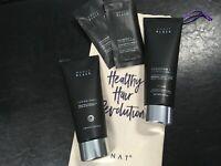 Monat Black Shampoo &Conditionner  + Monat Cream Shave + samples