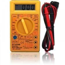 UKDJ Pocket Size Compact Digital Multitester AC/DC Multimeter inc Leads & Cover