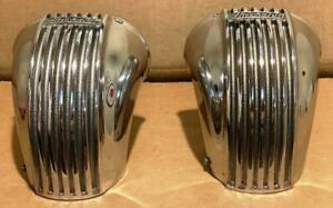2 Thickstun Carb Scoops SINGLE Throat carburetor Velocity Stacks