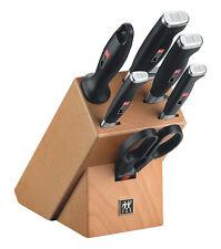 Zwilling Twin Four Star II Messerblock natur 7-tlg. eisgehärtete Klinge Messer