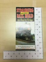 Vintage Travel Brochure Strasburg Railroad the Road to Paradise 1968 Schedule PA