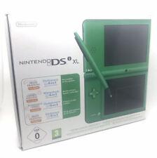 Videoconsola Nintendo Dsi Xl Color Verde Completa En Caja