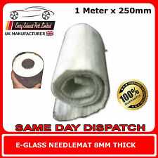 Exhaust Silencer Wadding 1 Meter x 250mm E-Glass Fibre Packing for Motorcycle