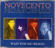 Novecento - Wait For Me (Remix) - CDM - 1994 - Eurodance Italodance 5TR