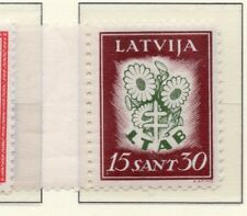 Latvia 1930 Early Issue Fine Mint Hinged 15s. 232882