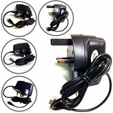 Micro Mains UK Charger Plug Wall 3 Pin for Motorola E G X Moto X 2014 Nexus 6