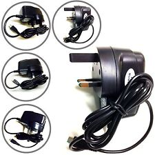Micro Mains UK Charger Plug 3 Pin For BlackBerry Bold 9700, 9930, 8520 MOBILES