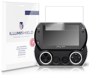 iLLumiShield HD Screen Protector w Anti-Bubble/Print 3x for Sony PSP Go