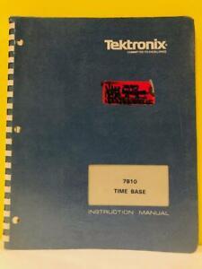 TEK 070-2316-00 7B10 Time Base Instruction Manual