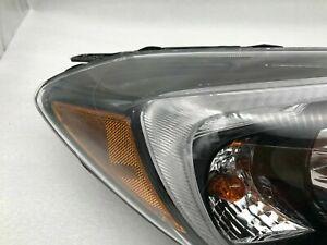 2015 2016 Subaru Impreza XV Crosstrek Right Side Headlight Black Trim OEM pasngr