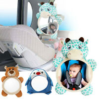 UK Baby Mirror Car Back Seat Cover for Infant Child Rear  Safety View Toys