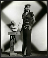Original stamped 1947 Statuesque RITA HAYWORTH glamour DOWN TO EARTH Ned Scott