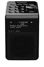 NEW Panasonic Portable Bluetooth Digital DAB+ Radio - Black