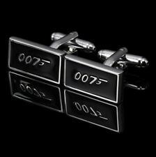 Stainless Steel Agent 007 James Bond Mens Wedding Party Gift Shirt Cufflink SS09