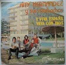 """Any Hernandez y sus Muchachos Y Viva Vaya con Dios Espana 7"""" Musimar ZUBO-8509"""