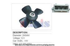 Ventilador Refrigeración del motor Enfriador De eléctrico Audi 80 Coupe 100 VW