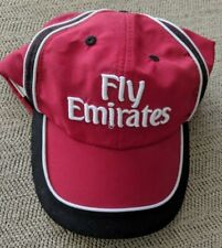 Fly Emirates, Red Cap/Hat, Adjustable, New w/o Tags, Dubai United Arab Emirates