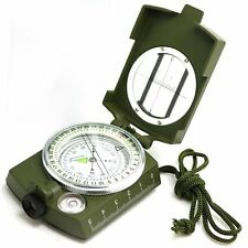 Professional Multifunction Metal Compass | Survival Gear Military Camping Hiking