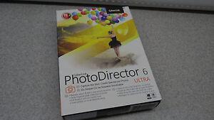 Cyberlink Photo Director 6 ULTRA PhotoDirector 6 ULTRA *free shipping!