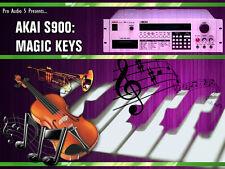 Akai S900 & S950 KEYS - GUITARS - HORNS - STABS SAMPLES - 10x Floppy Disks