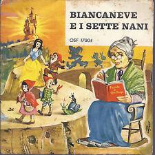 """BIANCANEVE E I SETTE NANI # narratrice Piera Gatta - serie """"Fiabe di ogni Tempo"""""""