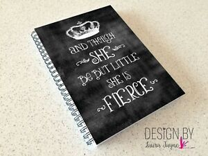 Weights log book / Fitness book / crossfit / workout tracker / gym diary/ fierce