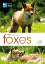 RSPB Spotlight - FOXES :   Mike Unwin : New Softcover  @ZB