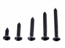 "For Toyota Black #8 Pan Head Trim Screws- 1/2"" to 1-1/2"" Long- 125 screws- #336"