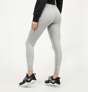 Nike Women's Tight Fit Mid Rise 7/8 Length Essential Leggings In Grey