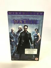 The Matrix VHS Movie Tape Warner Brothers Keanu Reeves Cardboard Case