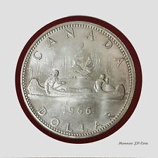 1966 LB  Silver Dollar Coin 80%Silver Brillant UNC #BC45